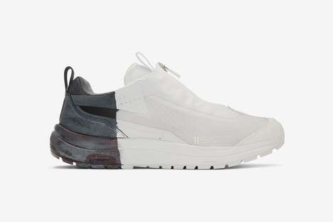 Dipped Paint-Accented Sneakers