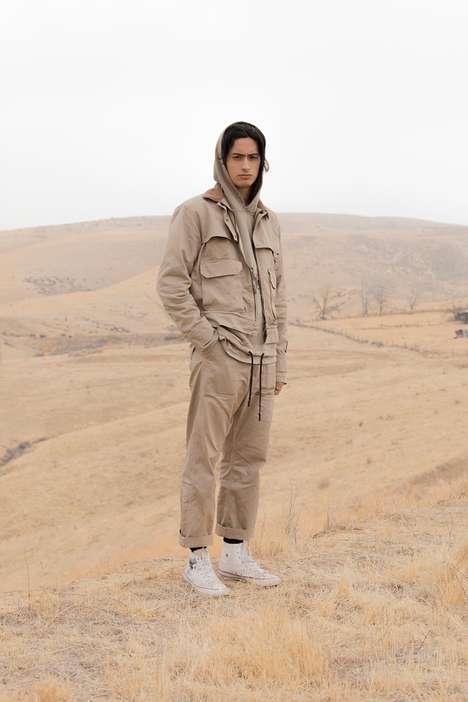 Heavyweight Californian-Themed Workwear
