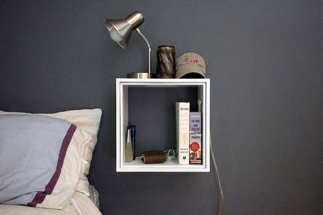Self-Mounting Shelving Units