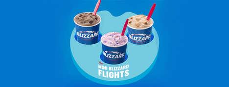 Frozen Dessert Sampler Specials