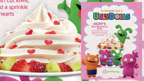 Film-Themed Frozen Yogurts