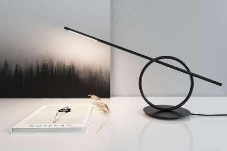 Sculptural Desktop Illuminators