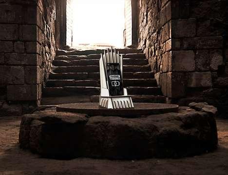 Fantasy-Themed Smartphone Docks