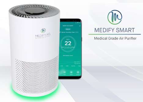 Connected Medical-Grade Air Purifiers