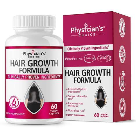 Nourishing Hair Growth Supplements