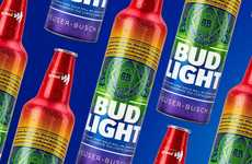 Pride-Celebrating Beer Bottles