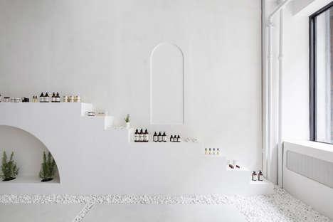 Ultra-Minimalist Garden-Inspired Beauty Pop-Ups