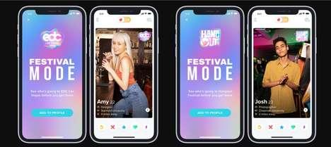 Festival Dating App Updates