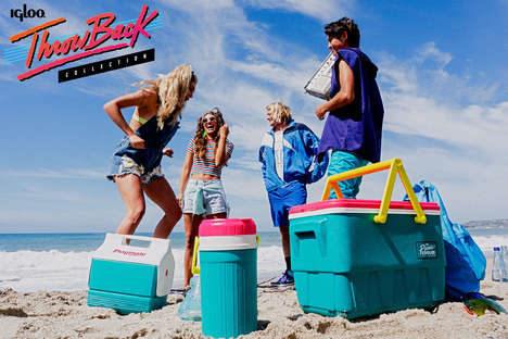 Retro Picnic Coolers