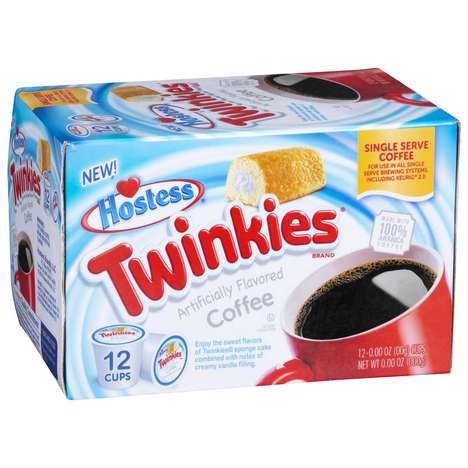 Sponge Cake-Flavored Coffees