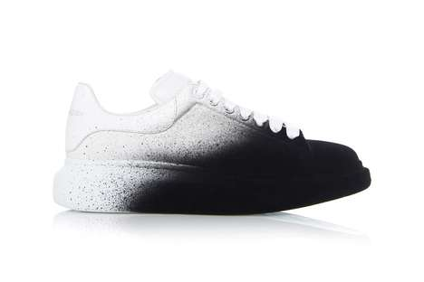 Spray-Painted Luxe Sneakers