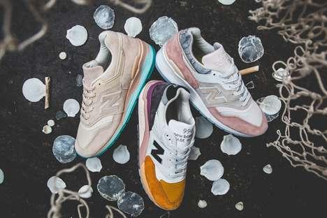 Seaside-Inspired Soft Sneakers