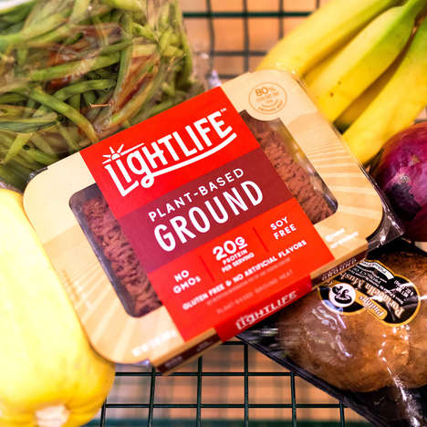 Plant-Powered Ground Meat Substitutes