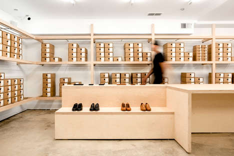 Stockroom-Inspired Shoe Shops