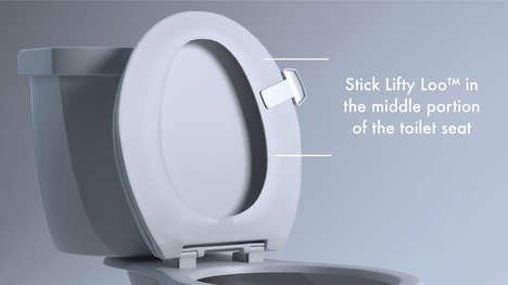 Antimicrobial Toilet Seat Handles