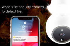 Fire Detection Security Cameras