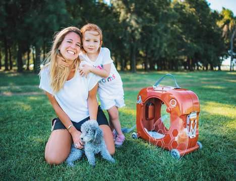 IoT-Connected Pet Carriers - The 'Quokka' Pet Carrier Tracks Temperature, Air Quality and More