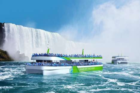Zero-Emissions Sightseeing Boats