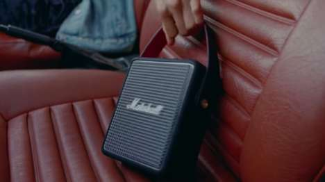 Portable Retro Speakers