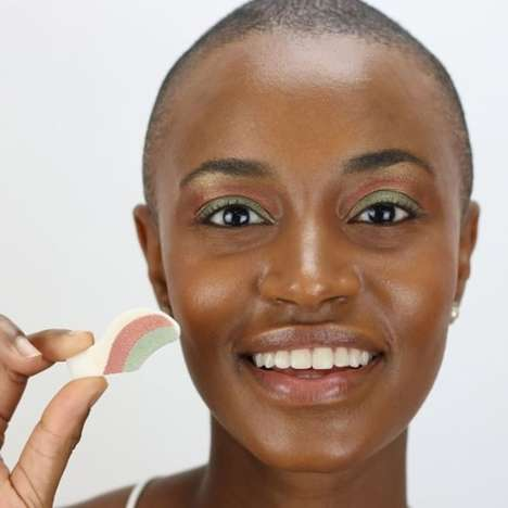 Stick-On Eyeshadow Cosmetics