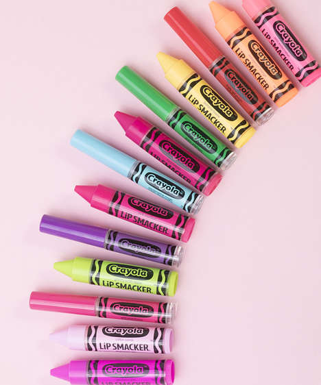 Crayon-Inspired Lip Cosmetics