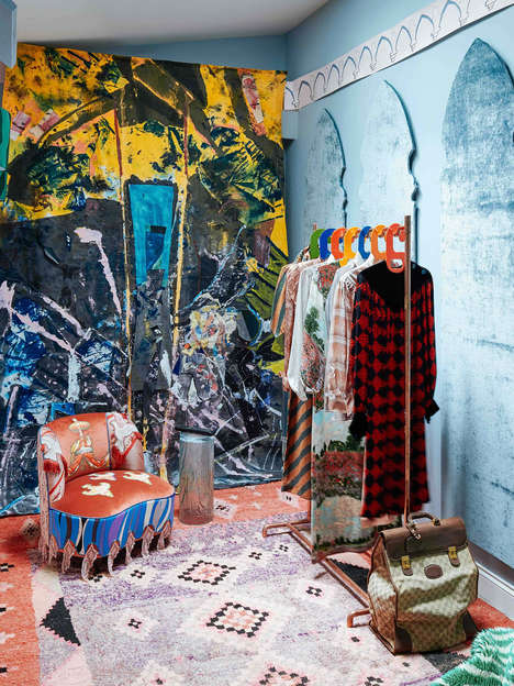 Maximalist Whimsical Pop-Up Shops