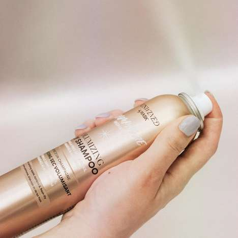 Champagne-Infused Dry Shampoos