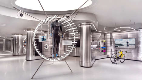 Ultra-Futuristic Sports Stores