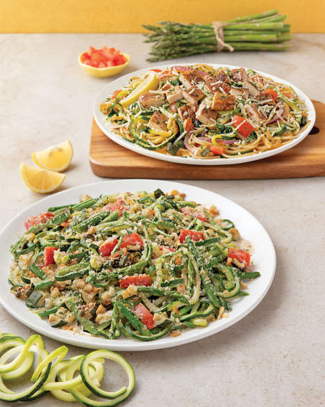 Vegetable-Powered Pasta Meals