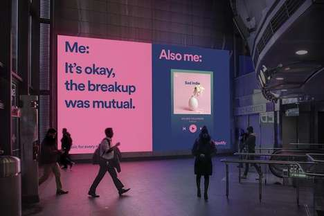 Meme-Inspired Music Ads - Spotify Ads Tap Internet Culture to Spark Enjoyment Among Users