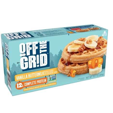 Frozen Protein Waffles
