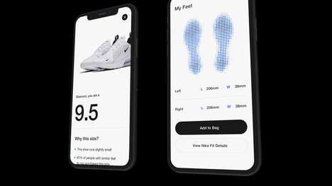 Shoe Size-Correcting Apps