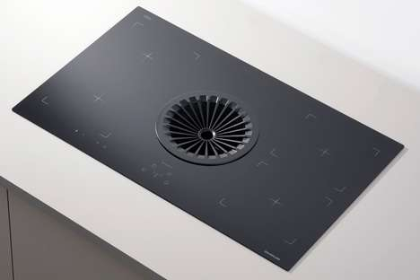 Space-Saving Kitchen Ventilation Units