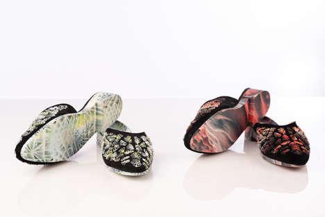 Crystal-Encrusted Printed Accessories