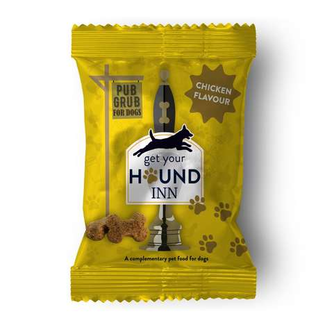Pub-Style Dog Snacks - 'Get Your Hound Inn' Shares Its Pub Grub for Dogs Through Pubs & Bars