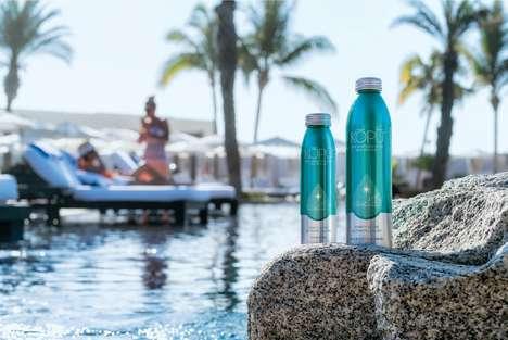 Resealable Aluminum Water Bottles