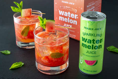 Sparkling Watermelon Juices