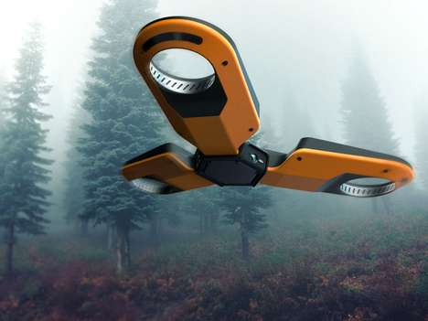 Forestry Exploration Drones