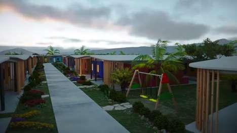 Affordable 3D-Printed Villages