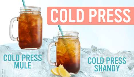 Cold-Pressed Coffee Drinks