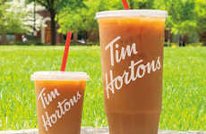 Mom-Targeted Extra-Large Coffees - Tim Hortons Created a 52-Ounce Mom-Sized Iced Coffee