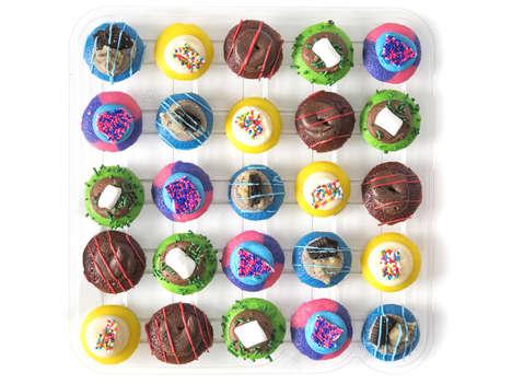 Celebratory Puppet Cupcakes