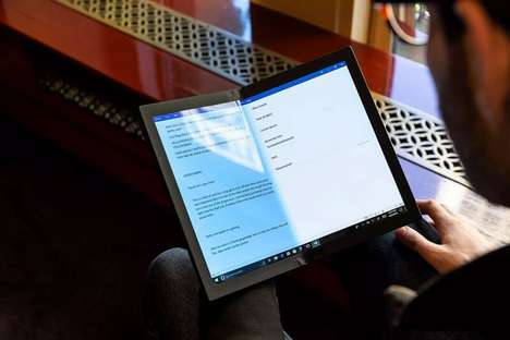 Notepad-Sized Foldable PCs