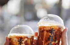 Stir-Fried Bubble Tea Beverages