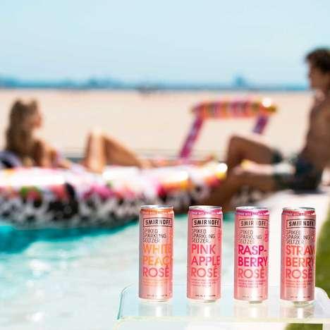 Summery Rosé Seltzers