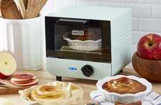Petite Countertop Baking Ovens - The DASH Mini Toaster Oven Provides 550 Watts of Cooking Power