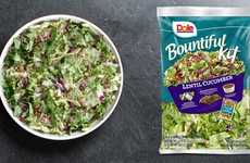 Foodie-Focused Salad Kits - The Dole Bountiful Kits are Packed with On-Trend Ingredients