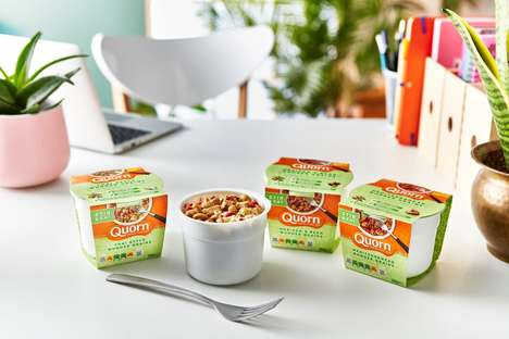 Single-Serve Vegetarian Meal Cups