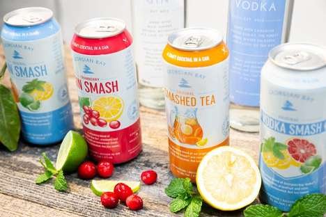 Canned Gin Cocktails