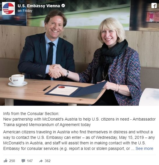 Embassy Fast Food Partnerships